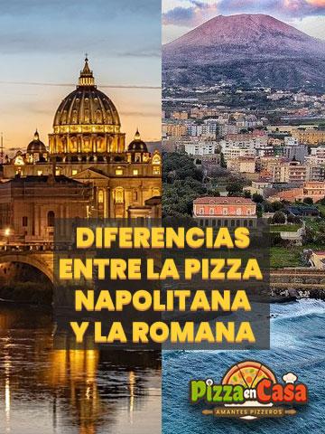 Diferencias entre la Pizza Napolitana y la Romana - Pixabay