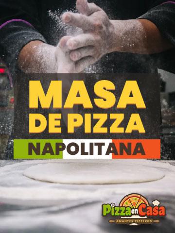 Cómo hacer auténtica masa de pizza napolitana en casa