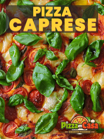 Cómo hacer auténtica Pizza Caprese