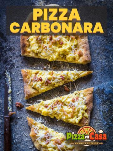 Cómo hacer auténtica Pizza Carbonara