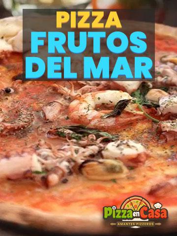 Cómo hacer auténtica Pizza de Frutos del Mar