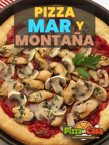 Cómo hacer auténtica Pizza Mar y Montaña