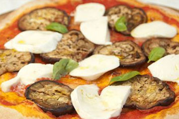 Receta Pizza con Melanzane
